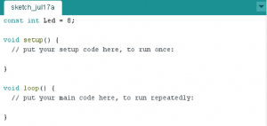 Iniciando o código
