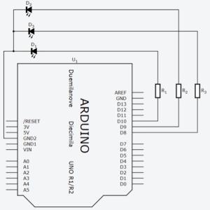 Esquema elétrico do circuito utilizado