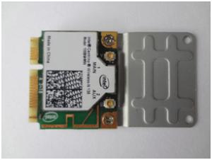 Montagem da placa Wifi no adaptador