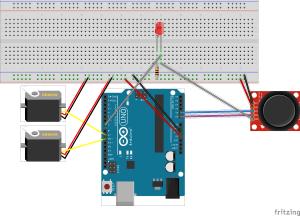 Diagrama de montagem do circuito