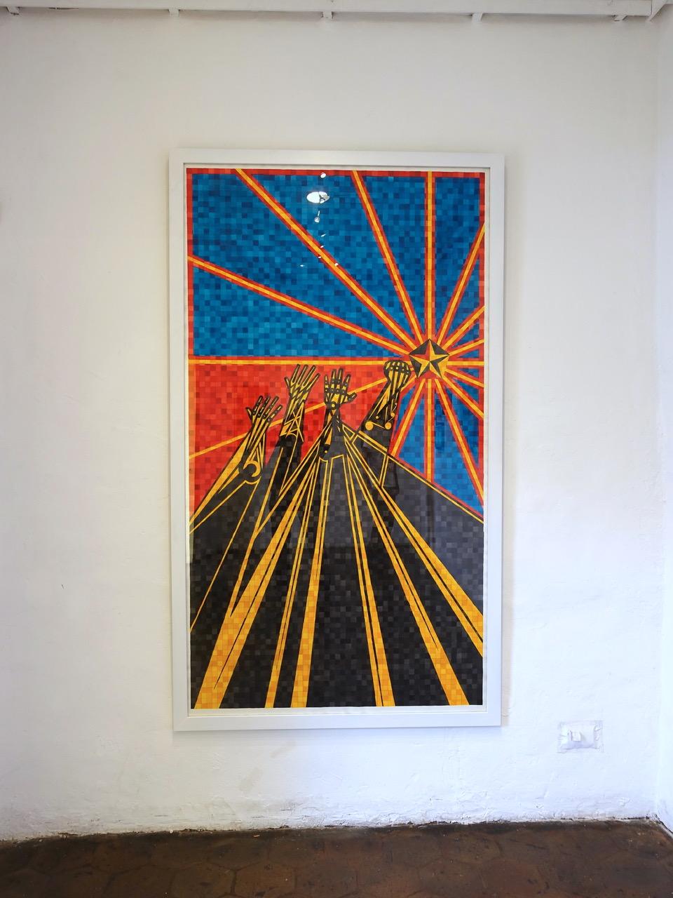 Movimiento GRSB / Oswaldo Terreros (Ecuador). Premio de la XIII Bienal de Cuenca.
