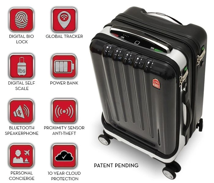 Meet the Smartest Suitcase the World Has Ever Seen