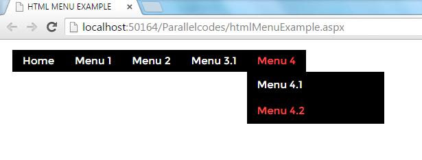 asp.net menu control 3