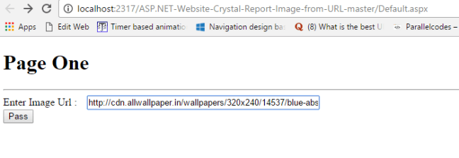 asp.net crystal report image from url