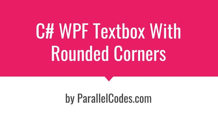 WPF Textbox Rounded Corners 01