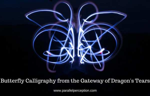 Butterfly Calligraphy from the Gateway of Dragon's Tears