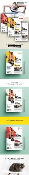 Health Brochure Template the 493 Best Fitness Flyer Sport Flyer Print Templates Psd