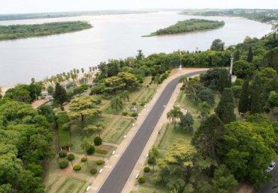 Paraná: costanera alta del Parque Urquiza