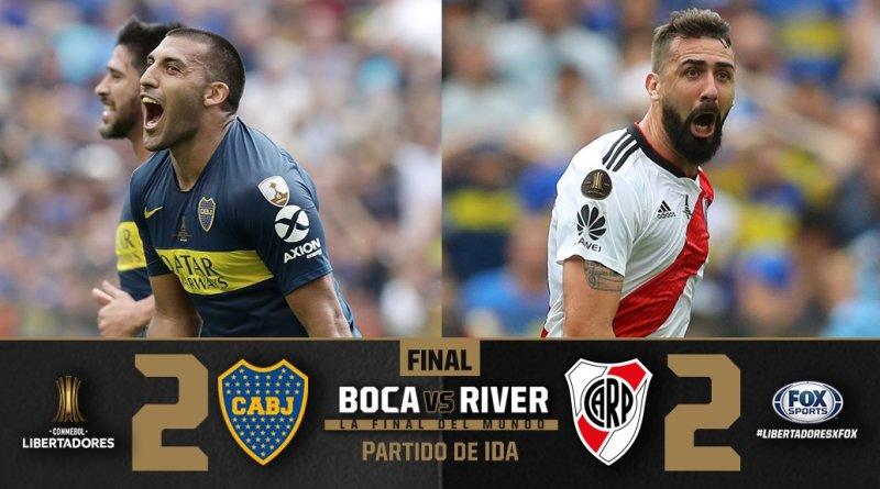 Boca vs. River - Primera final Copa Libertadores