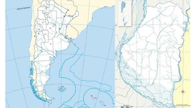Mapa Politico De Argentina Provincias America Y Planisferio