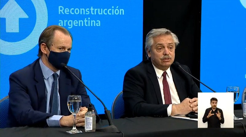 Conferencia de Alberto Fernández en Paraná