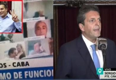 Un diputado nacional realizó un acto sexual en plena sesión