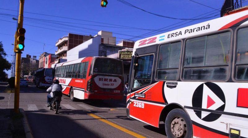 Colectivos en Paraná