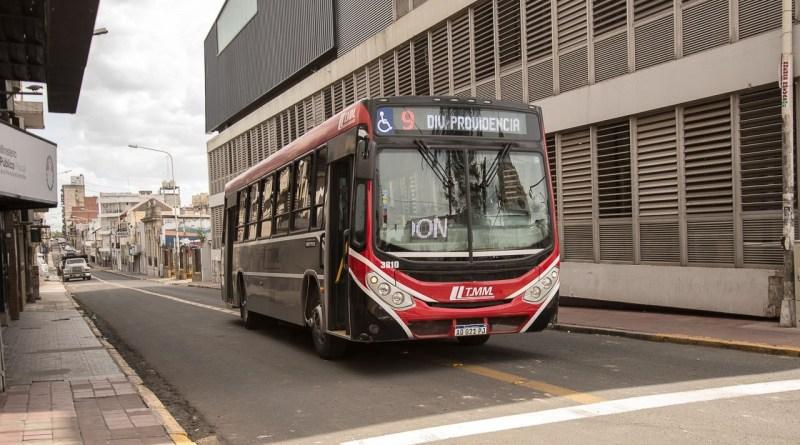 Colectivo línea 9 de Paraná