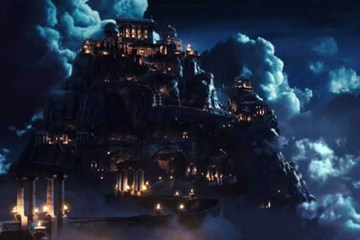 Le Mont Olympe dans la mythologie grec.