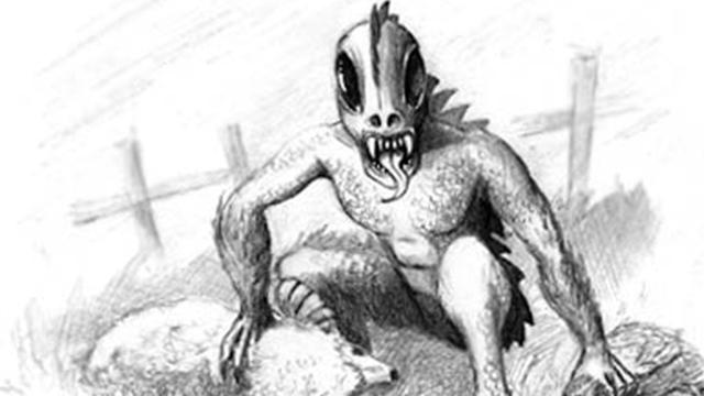 Chupacabra illustration by Jeff Carter