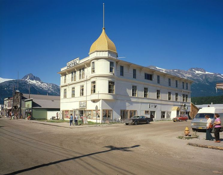 Golden North Hotel, Skagway, Alaska