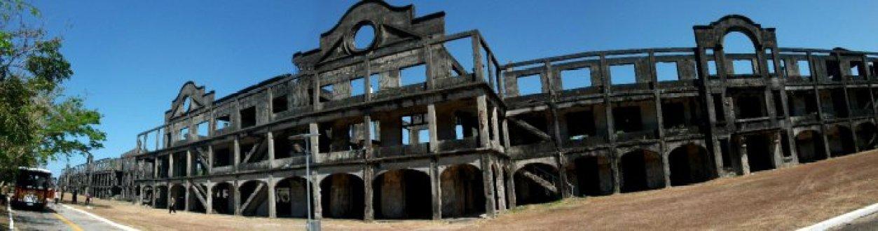 Mile Long Barracks Ghost Photo