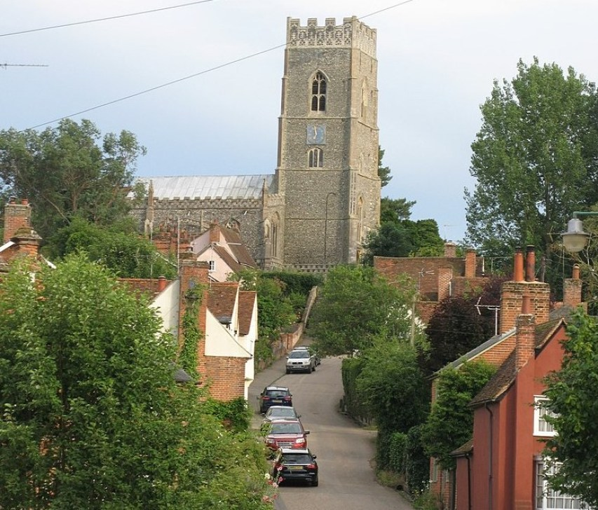 St Mary's church, Kersey