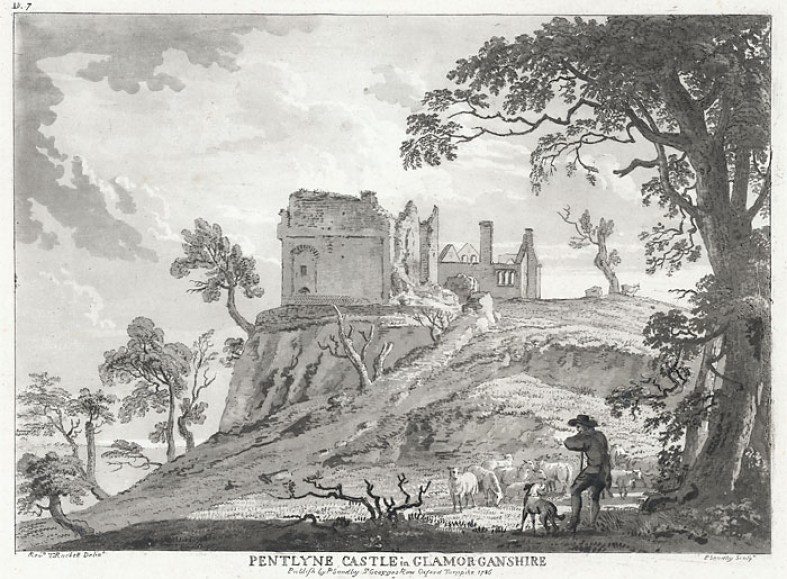 Penllyn Castle illustration