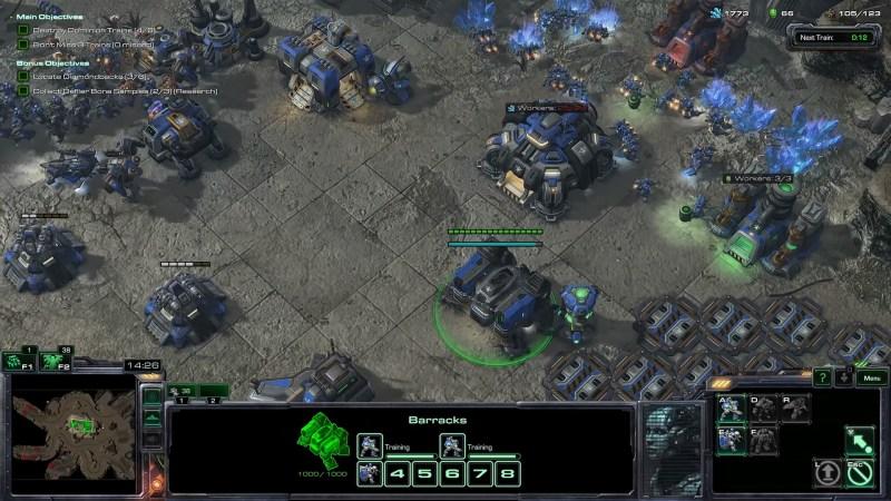 Gameplay - Juego RTS