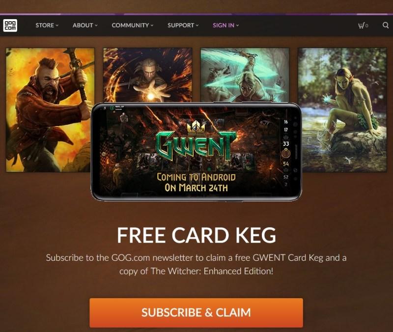 Bonus The Witcher gratis