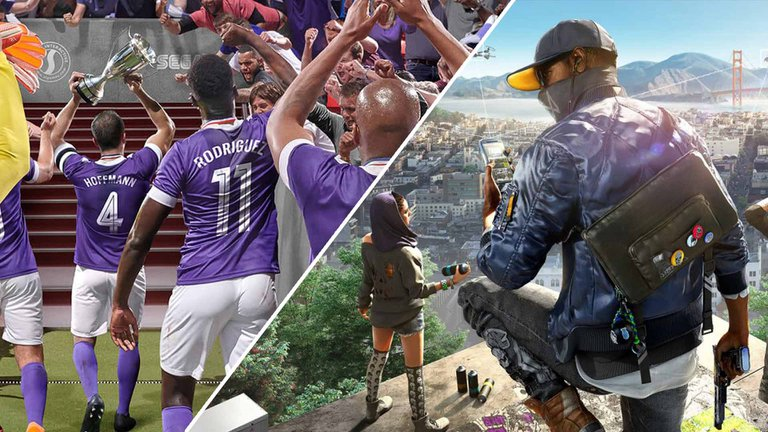 Watch Dogs 2 & Football Manager 2020