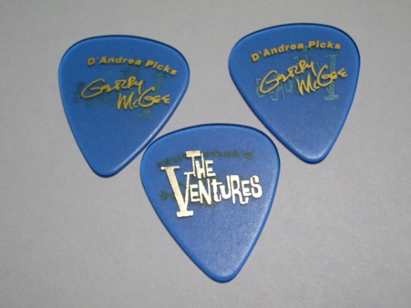 THE VENTURES PICK SET GERRY McGEE X 3 COPIES of BLUE ...