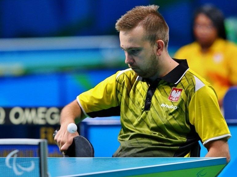 Rafał Czuper – tenis stołowy (singiel, kl. 2)