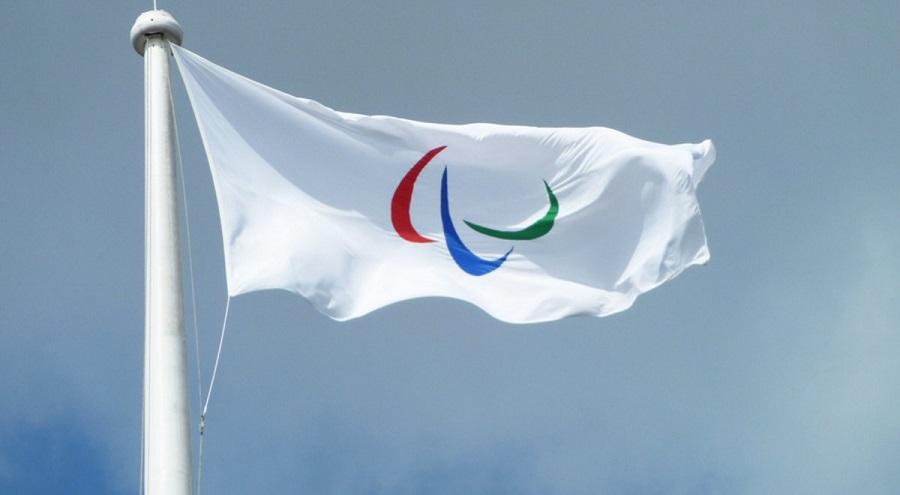 flaga paraolimpijska