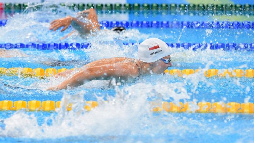 Oliwia Jabłońska – pływanie (100 m stylem motylkowym, S10)