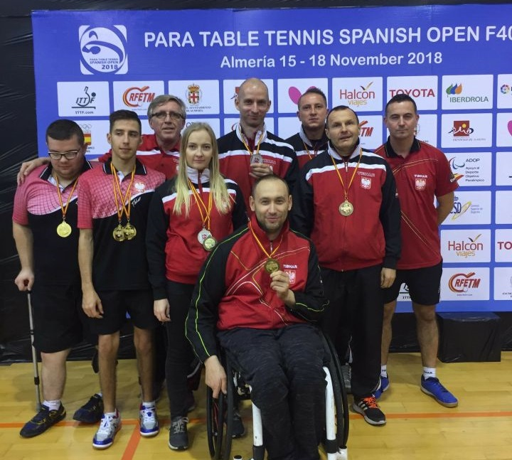 Table Tennis 2018 Spanish Open