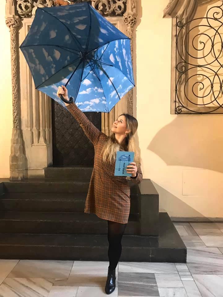 Ewa Harapin w dniu premiery książki. Fot. archiwum Ewy Harapin