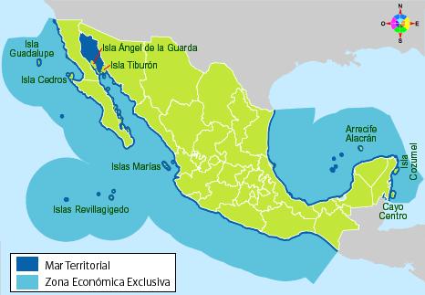 Resultado de imagen para geografia yucatana rodeado por mar caribe y golfo de mexico