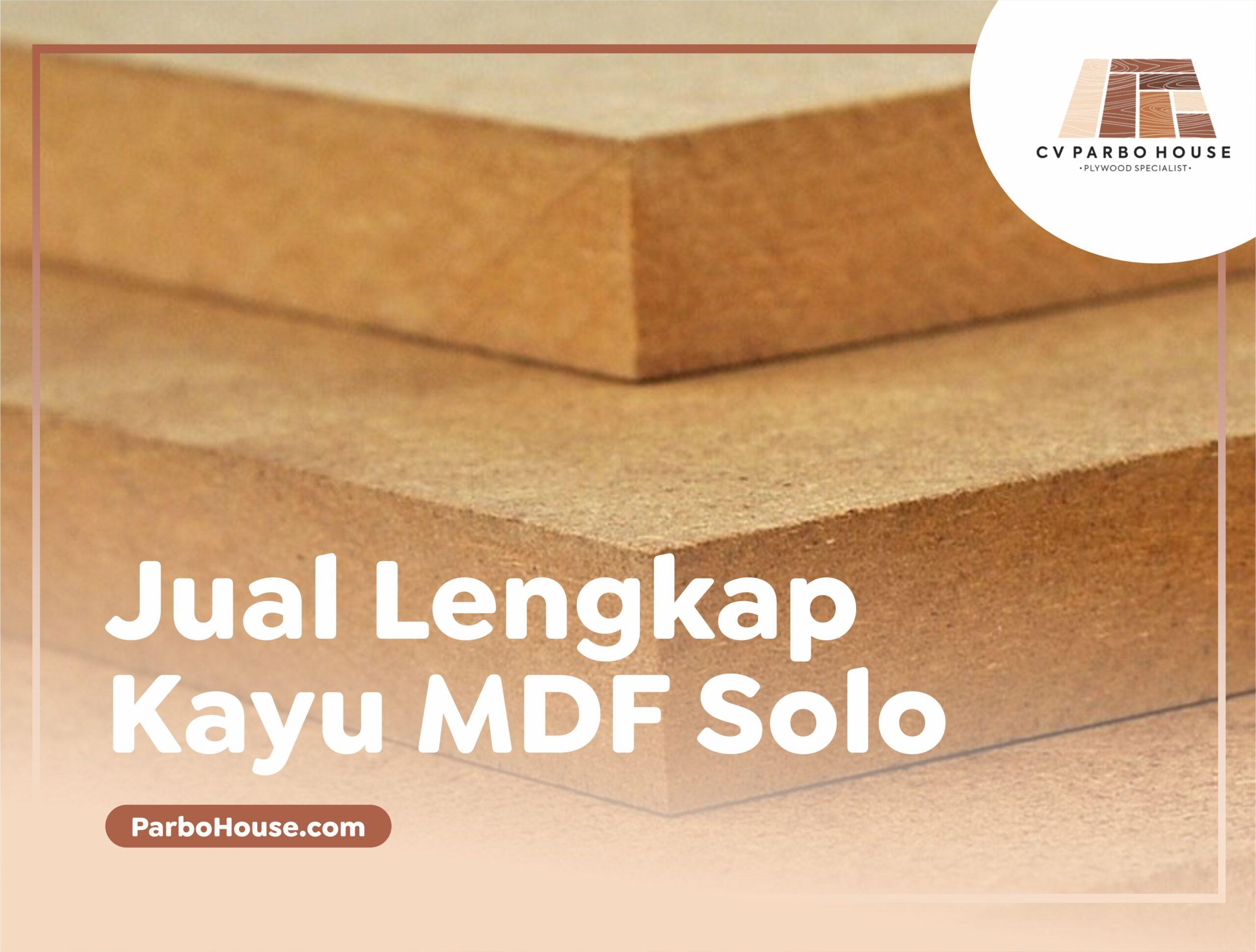 Jual Kayu MDF Solo Lengkap