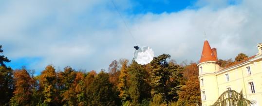Ouverture de parachute de secours pour parapente