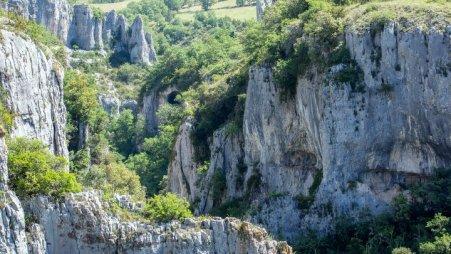 Gorges d'Oppedette (photo PNRL - Stéphane Legal) Visiter Oppedette