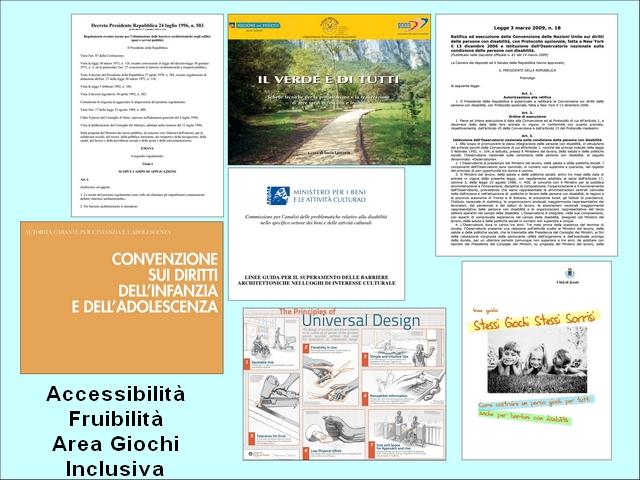 Accessibilità e parco giochi inclusivo - Leggi e Norme
