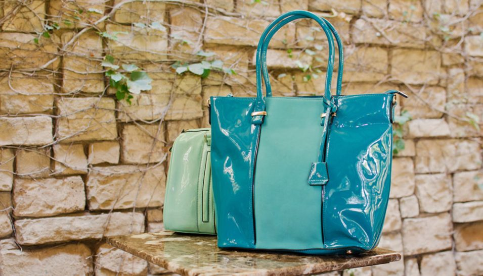 turquoise handbag parco bags home