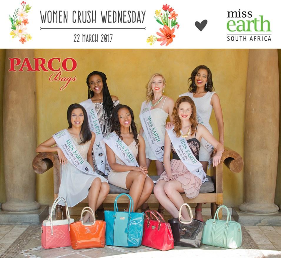 Parco Bags 22.03.2017 WCW - Miss Earth SA