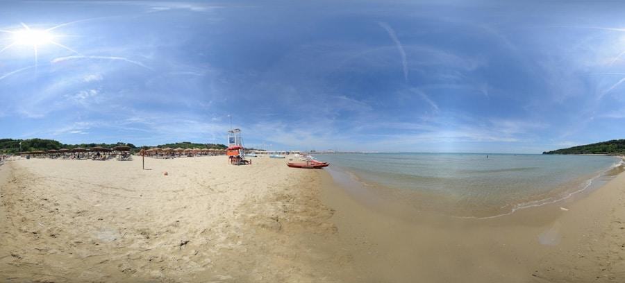 Spiaggia dei Saraceni in Ortona