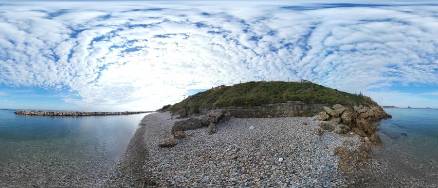 panorama Spiaggia di Maruccio