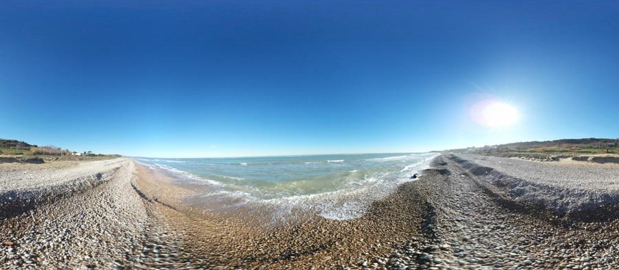 panorama Spiaggia di Santo Stefano