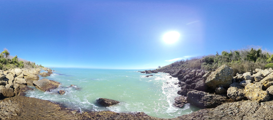 Panorama Spiaggia di Torricella