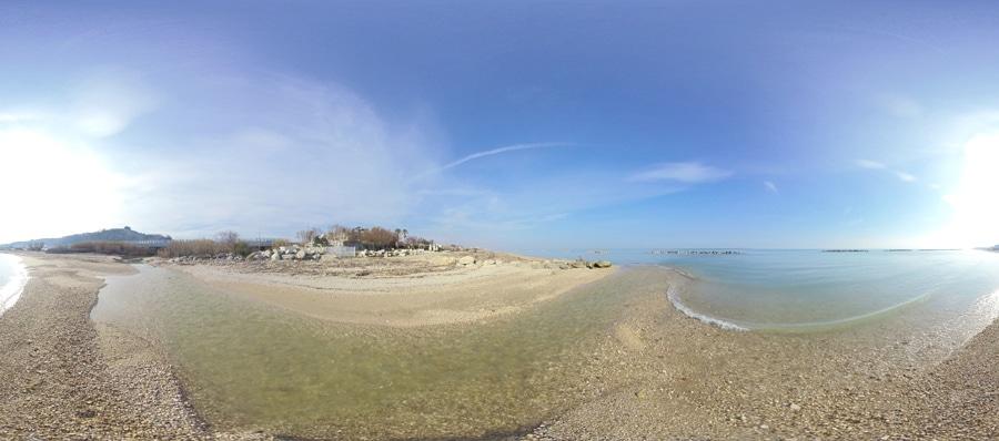 Ortona - Spiaggia del Fiume Foro