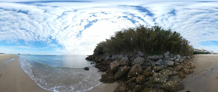 panorama spiaggia Marina di San Vito