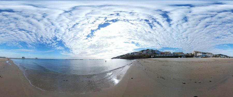 scatto spiaggia Marina di San Vito