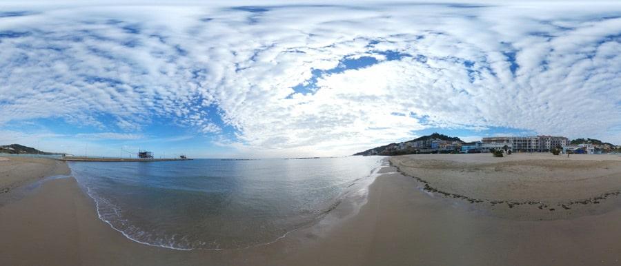 spiaggia Marina di San Vito