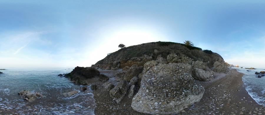 Spiaggia Punta dell'Opera nel vaste se