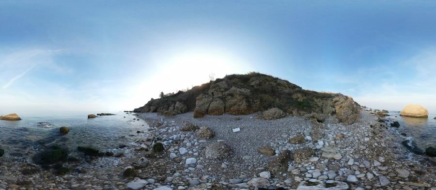 fotografia Spiaggia Punta dell'Opera